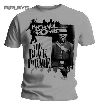 Official T Shirt MY CHEMICAL ROMANCE Grey WARPATH Parade All Sizes